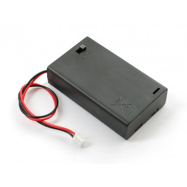 Block battery with JST connector and ON-OFF inter 3xAAA