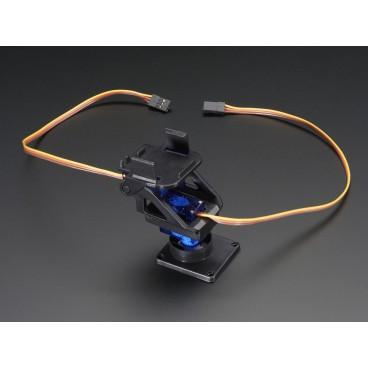 Mini Pan-Tilt Kit assemble avec servos