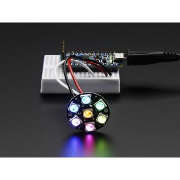 NeoPixel Jewel avec 7 LED RGB LED et driver integre