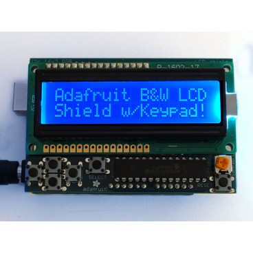 Shield LCD 16 x 2 I2C blue and white for Arduino