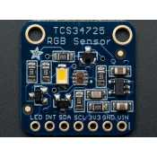 With filter IR and white LED - TCS34725 RGB color sensor