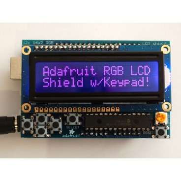 Shield LCD 16 x 2 I2C RGB for Arduino