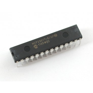 MCP23017 - Circuit 16 bit I2C port extension
