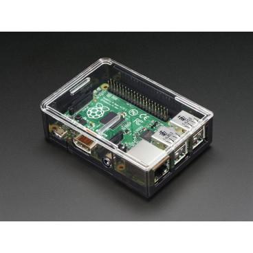 Boitier Raspberry PI B+ PI2 PI3 Transparent Adafruit