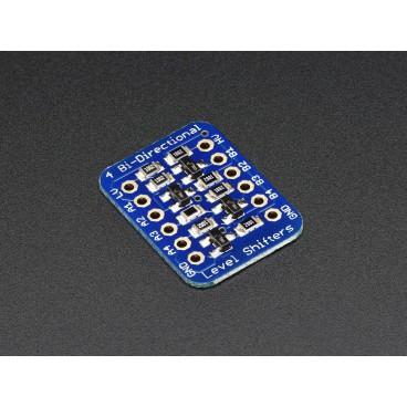 Convertisseur de tension I2C bi-directionnel 4 bits - BSS138