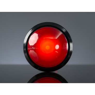 Bouton Arcade geant 100mm avec LED Rouge