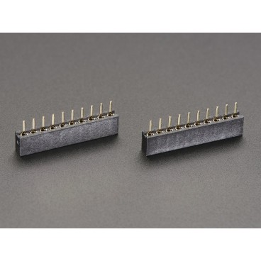 2 X female connector 1 X 10 to the steps of 2mm (Xbee)