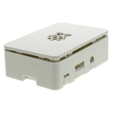 Boitier Raspberry PI B+ PI2 PI3 Blanc