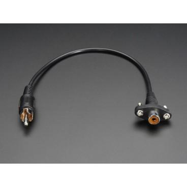 Cable RCA Femelle/Male pour montage panneau