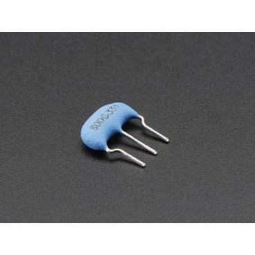 Oscillateur resonateur 8MHz céramique