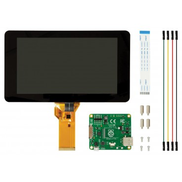 Official touchscreen Raspberry FT 7 inches DSI