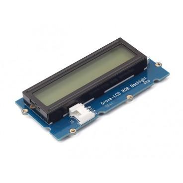 Afficheur LCD 2X16 I2C avec retro-eclairage RGB - Grove