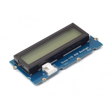 Display LCD 2 X 16 I2C with backlight RGB - Grove
