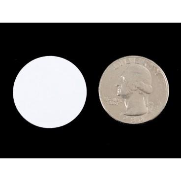 White lozenge Mifare Classic 13.56 MHz RFID NFC
