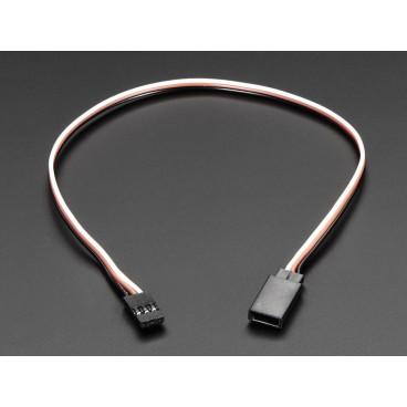 Cable rallonge pour Servo - 30 cm