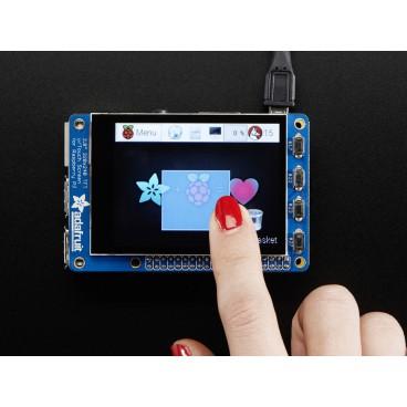 "PiTFT more capacitive touchscreen TFT 2.8 ""320 x 240"