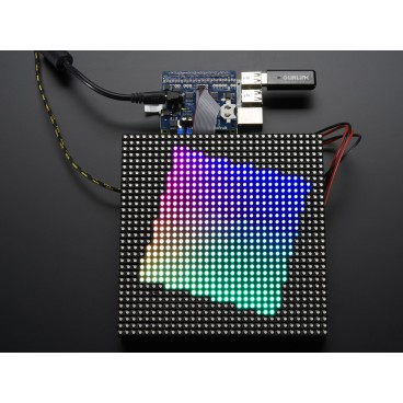 Adafruit RGB Matrix HAT + RTC pour Raspberry PI