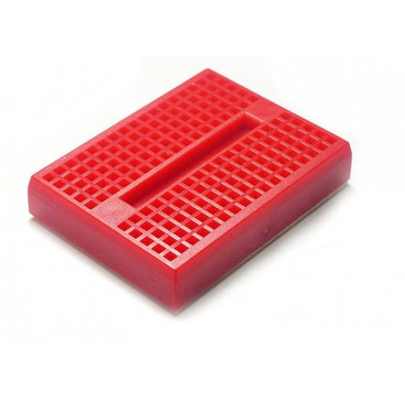 Mini Breadboard - Platine d'essais 170 contacts Rouge