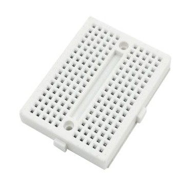 Mini Breadboard - Platine d'essais 170 contacts Blanche