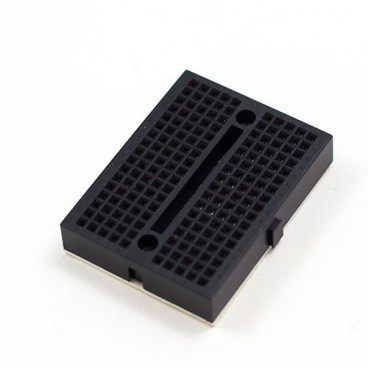 Mini Breadboard - Platine d'essais 170 contacts Noire