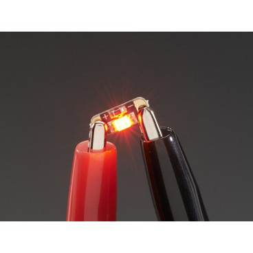 5 X LED Sequins - Ruby Red - Adafruit