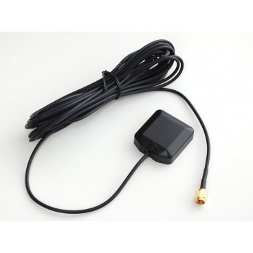 Active external GPS antenna - 3 - 5V 28dB 5 m SMA