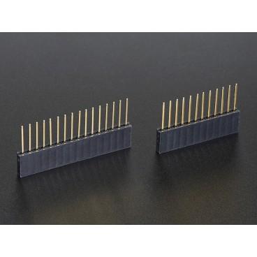 Connecteurs empilables femelle 12 et 16 pins pour Feather