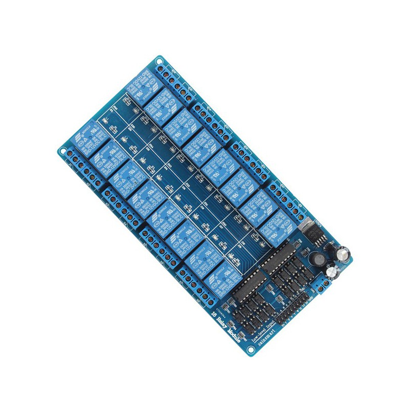 Map 16 relay with opto input 3, 3V - 5V