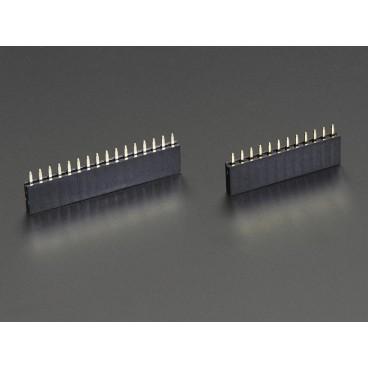 Connecteurs femelle 12 et 16 pins pour Feather