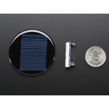 Solar round badge 5V 40mA