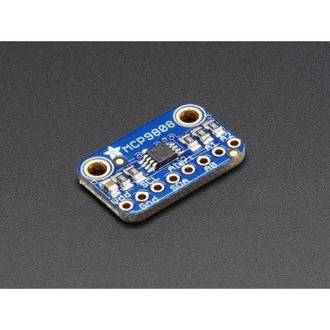 MCP9808 temperature sensor I2C precision
