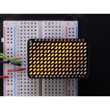 LED Charlieplexed Matrix - 9x16 LEDs - Jaune