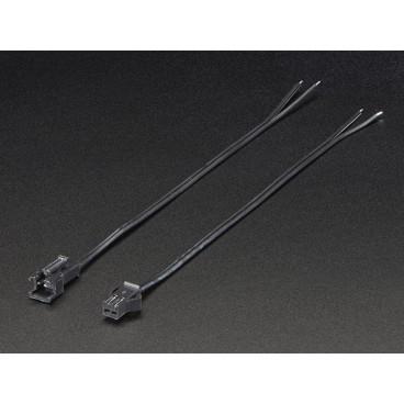 Lot de cables 2 points JST SM 2.5mm male et femelle