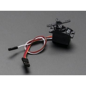 Micro Servo avec Feedback analogique - Engrenage Plastique