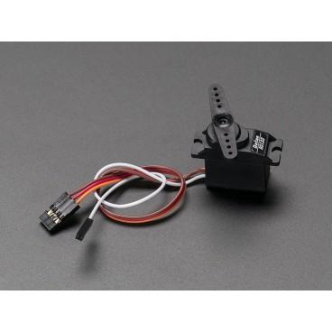 Micro Servo avec Feedback analogique - Engrenage Metal