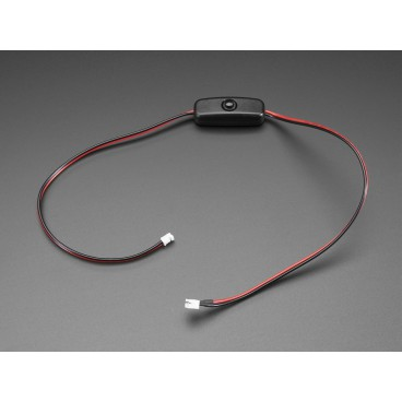 Cable d'alimentation JST-PH 2pins avec interrupteur