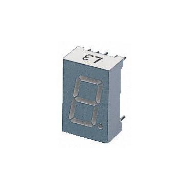 Afficheur 7 segments vert à cathode commune