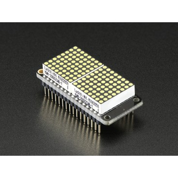 Kit FeatherWing matrix of LED 8 x 16 - white