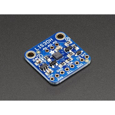 Accelerometer LIS3DH 3-axis (+ - 2g / 4g / 8g / 16g)
