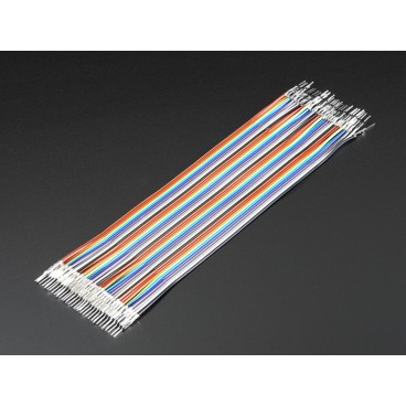Kit of 40 wires Male-Male gross customizable 150 mm Premium dupont