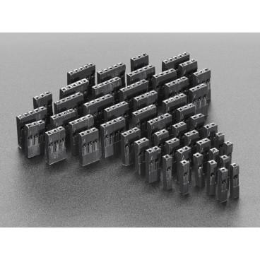 Kit de receptacles petit simple rangee pour cables customisables