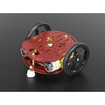 Mini kit 2WD with DC motors robot chassis
