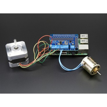 DC & Stepper Motor for Raspberry PI HAT