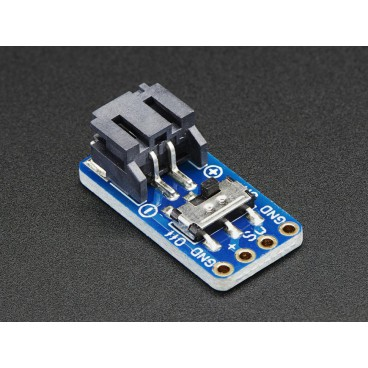 Breakout JST - PH Male 2pin with ON-OFF switch