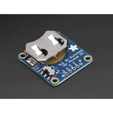 Breakout Pile Bouton CR2032 20mm avec interrupteur ON-OFF