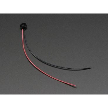Miniature microphone Electret Prewired