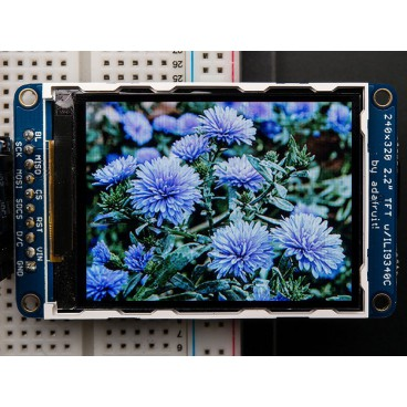 "18 bit TFT 2.2 ""320 x 240 IPS display"