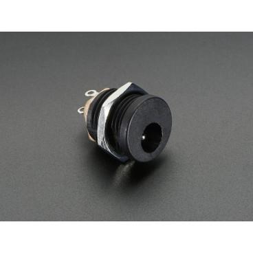 Embase Power Jack 2,1mm pour montage panneau