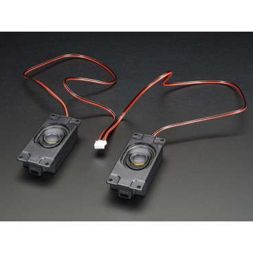 Kit de deux Haut-parleurs - stereo - 3W 4ohms