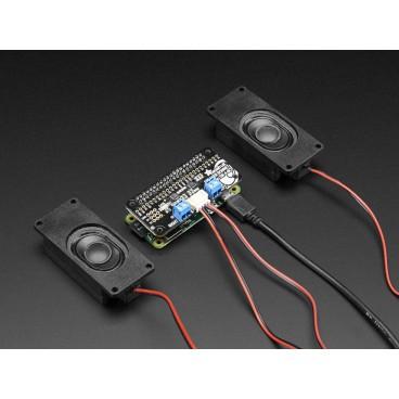 Adafruit I2S 3W Stereo Speaker cap for Raspberry Pi - Mini Kit